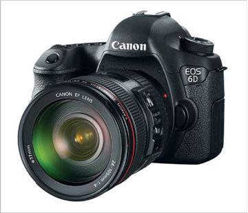 تصویر دوربین عکاسی دیجیتال کانن  مدل  6D 24-105