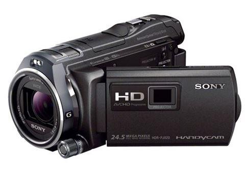 تصویر دوربین فیلمبرداری دیجیتال سونی مدل  HDR-PJ820