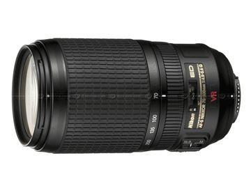 تصویر لنز دوربین عکاسی نیکون مدل AF -S 70-300 f/4.5-5.6 G