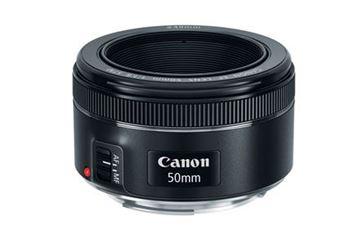 تصویر لنز دوربین عکاسی کانن مدل  EF 50mm f/1.8 STM