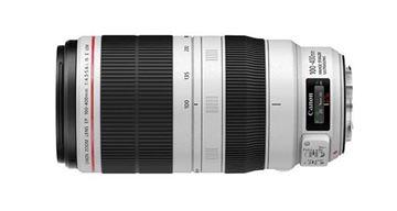 تصویر  لنز دوربین عکاسی کانن مدلmm f/4.5-5.6L IS II USM  100-400