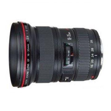تصویر لنز دوربین عکاسی کانن مدل 16-35mm f/2.8L II USM
