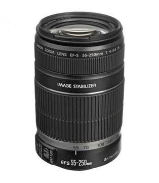 تصویر لنز دوربین عکاسی کانن مدل 55-250mm f/4.5-6 IS STM