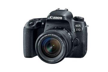 تصویر دوربین عکاسی دیجیتال کانن مدل 77D 18-55